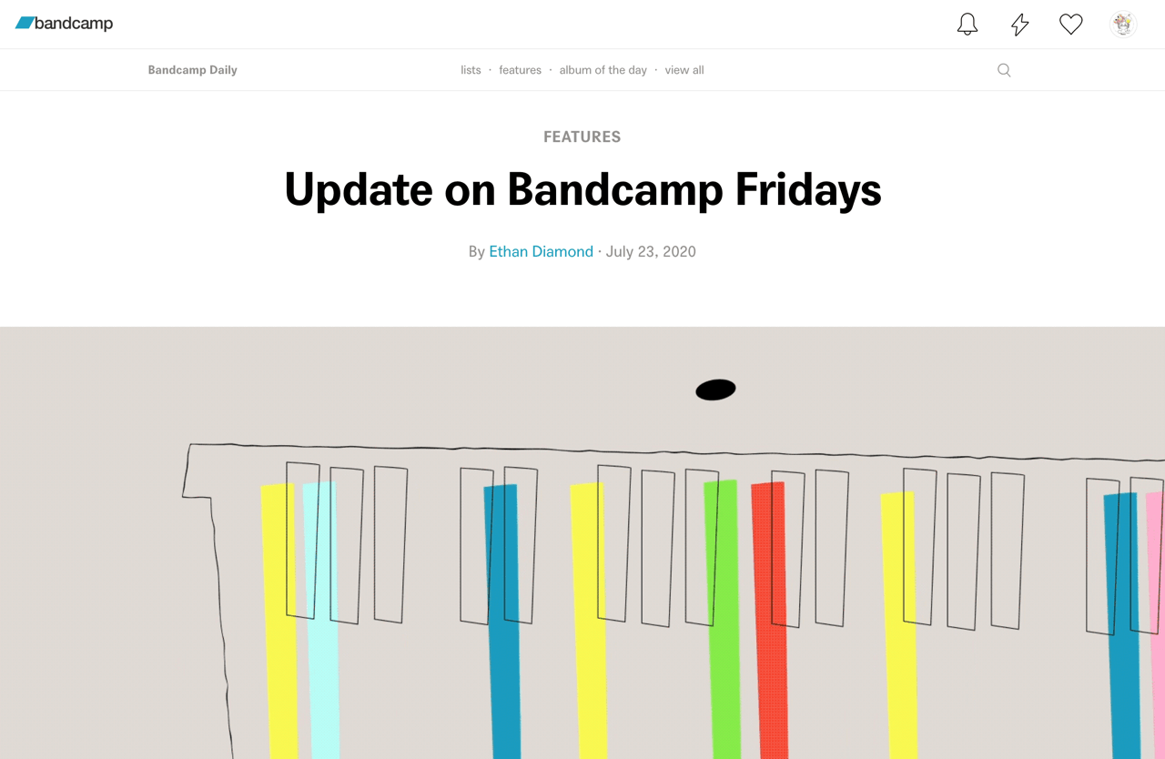 Update on Bandcamp Fridays | Bandcamp Daily