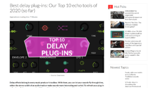Best delay plug-ins: Our Top 10 echo tools of 2020 (so far) - gearnews.com