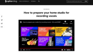 How to prepare your home studio for recording vocals - Blog | Splice