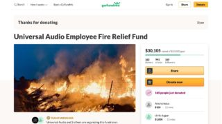 Fundraiser by Universal Audio : Universal Audio Employee Fire Relief Fund