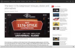 The best 1176 compressor reissues, clones and alternatives - gearnews.com