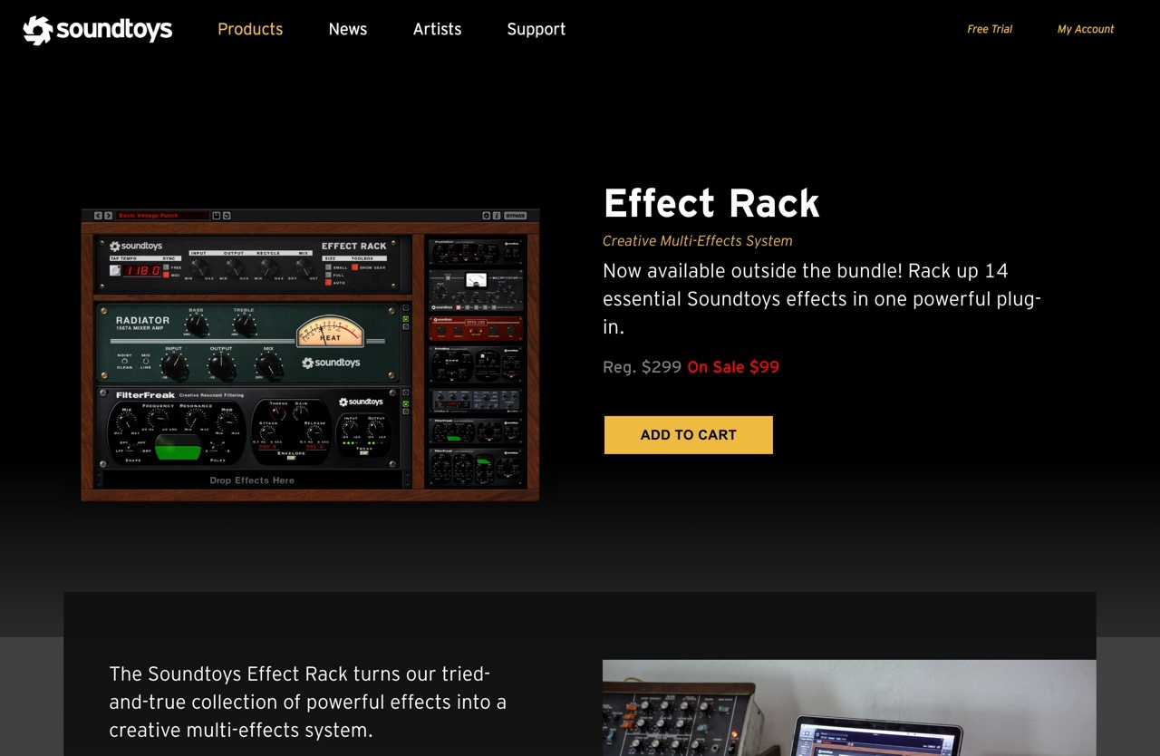 Effect Rack - Soundtoys