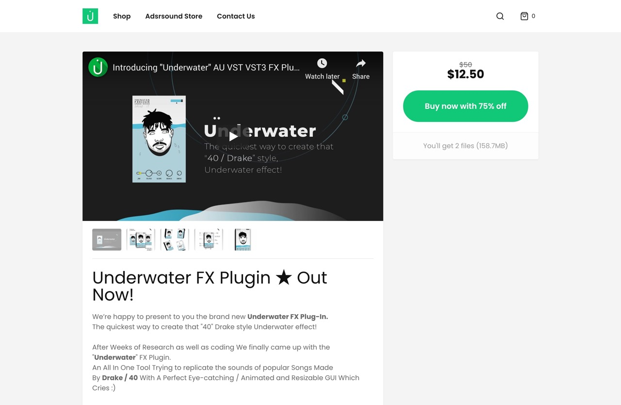 Underwater FX Plugin ★ Out Now! - Thenatan Official Store