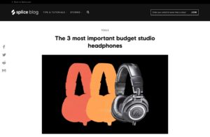 The 3 most important budget studio headphones - Blog | Splice