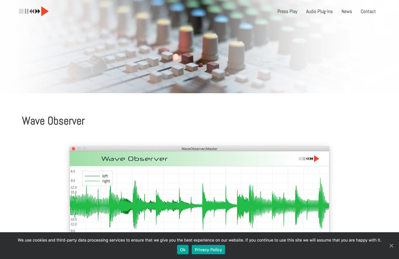 Wave Observer - Press Play - Home of Sound