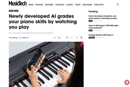 Newly developed AI grades your piano skills by watching you play | MusicTech