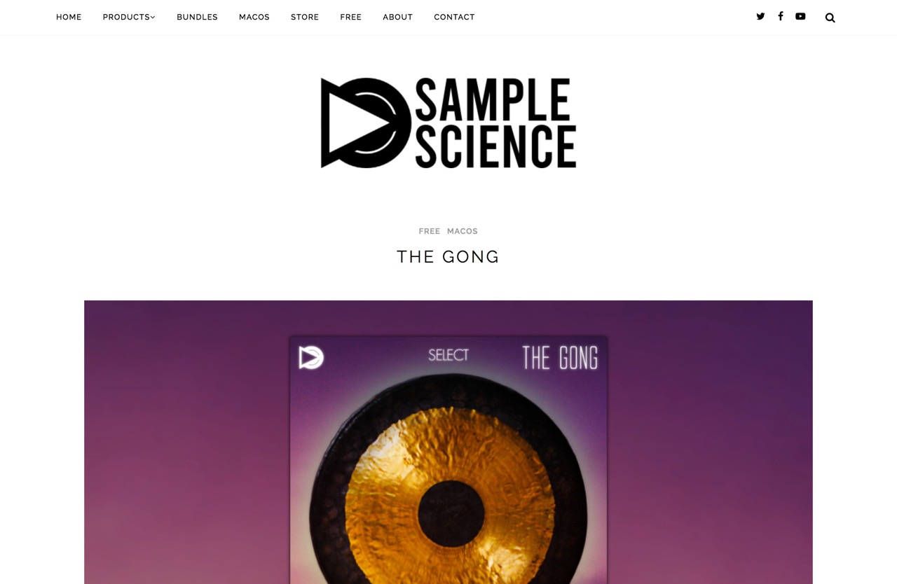 The Gong   SampleScience