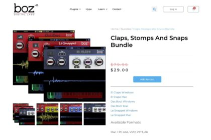 Claps, Stomps and Snaps Bundle – Boz Digital Labs