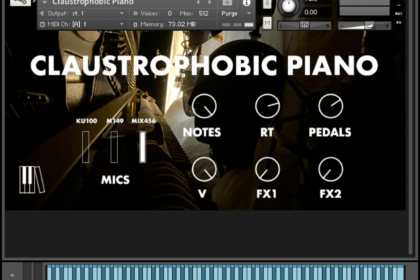 "Pianobook ""Claustrophobic Piano"""