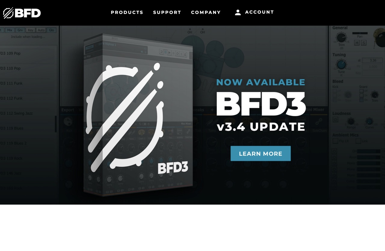 BFD3 Flagship Drum Software and Percussion Virtual Instruments| BFD