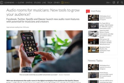 Audio rooms: How does it help musicians engage their audience?