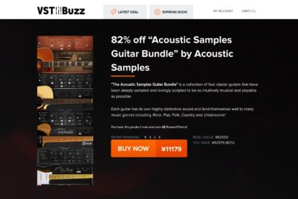 """82% off """"The Acoustic Samples Guitar Bundle"""" by Acoustic Samples"""