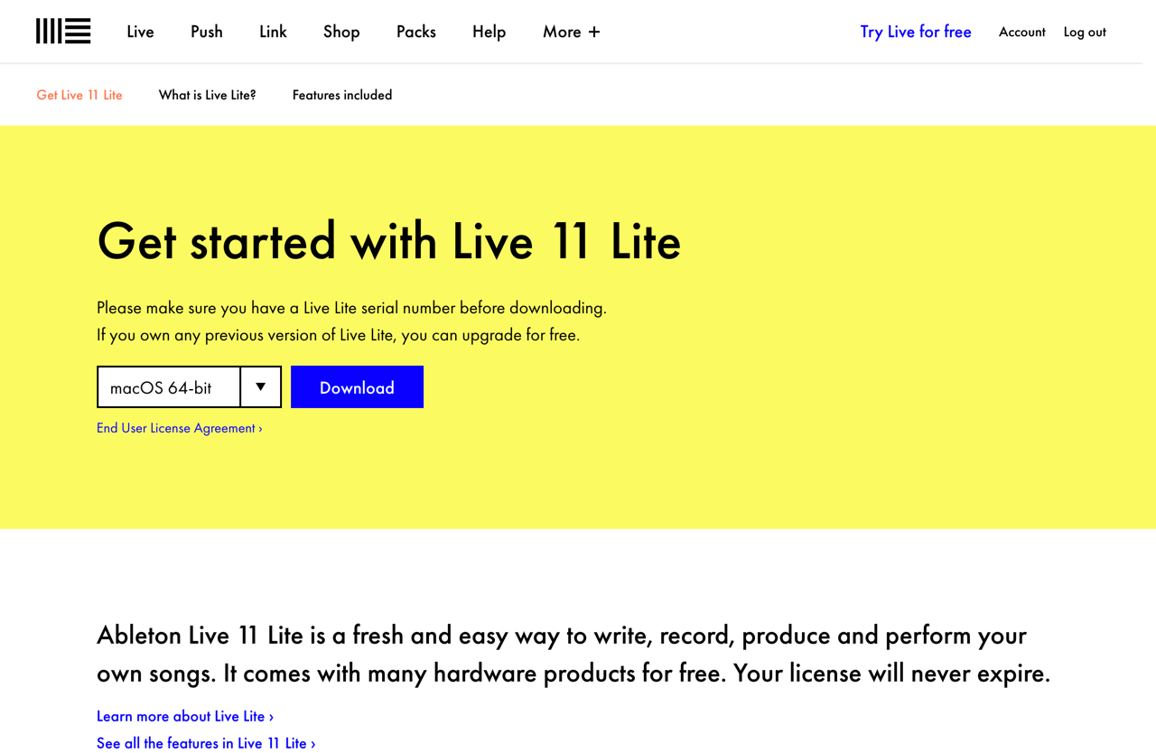 Get started with Ableton Live 11 Lite   Ableton