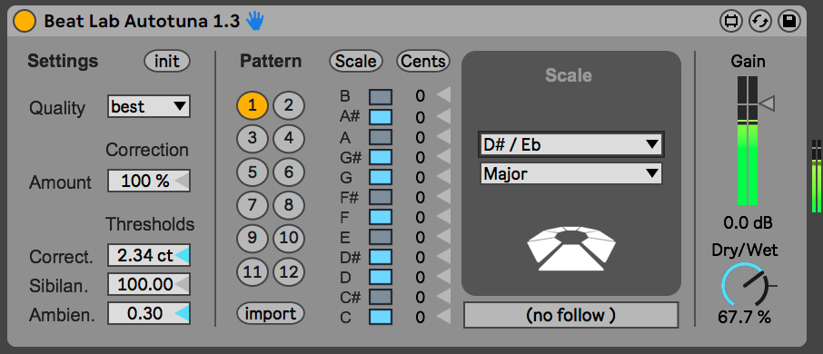 Autotune for Ableton Live (Free Download) | Beat Lab